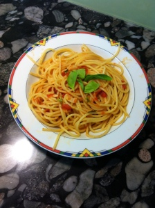 Spaghetti mit Tomatensauce à la Jamie Oliver