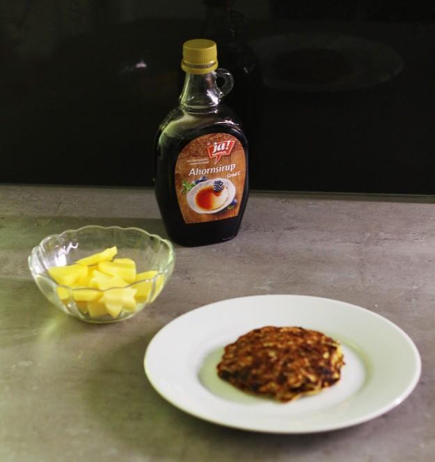 Bananen- Granola Pancakes 2