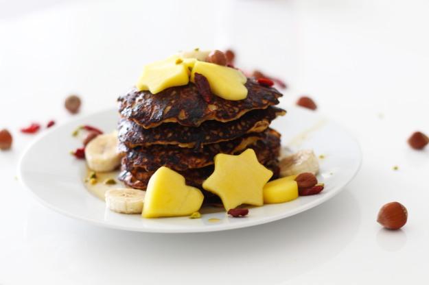 Bananen- Granola Pancakes 5