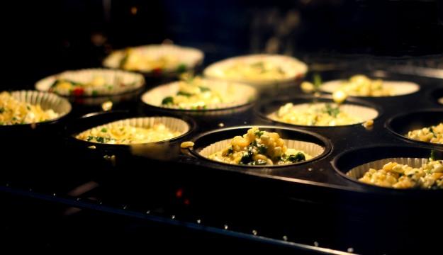 Breakfast Muffins mit Cottage Cheese und Bulgur 3