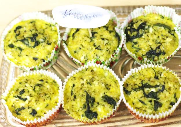 Breakfast Muffins mit Cottage Cheese und Bulgur 4
